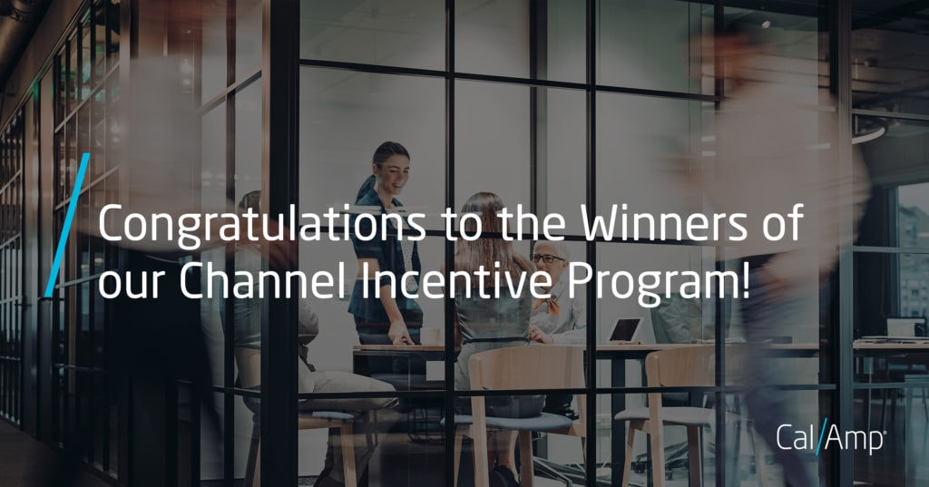 Congratulations to the winners of our channel incentive program